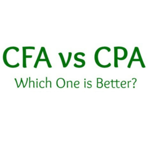CFA vs CPA which is better?