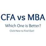 CFA vs MBA which is better?