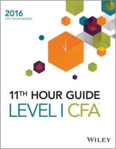 11th hour guide Level 1 CFA