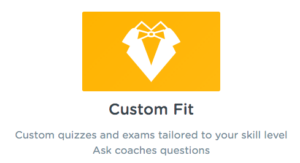 CFA custom fit