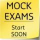 CFA mock exams sticky note