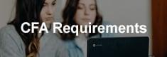 CFA követelmények