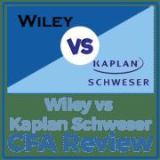 Wiley vs Kaplan Schweser CFA Review