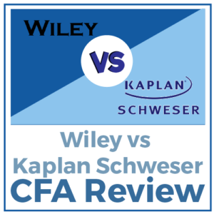 Wiley vs Kaplan Schweser CFA Review