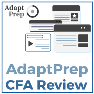 AdaptPrep CFA Review