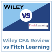 Wiley vs Fitch Learning CFA Review