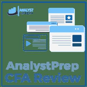 AnalystPrep CFA 검토