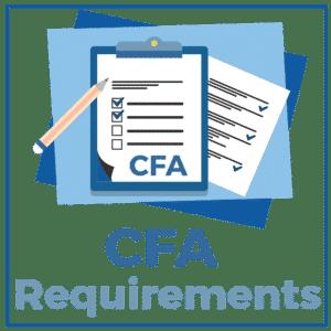 CFA 요구 사항