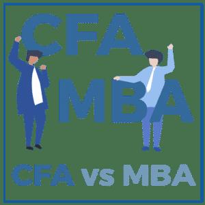 MBA 대 CFA