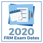 2020-FRM-Exam-Dates